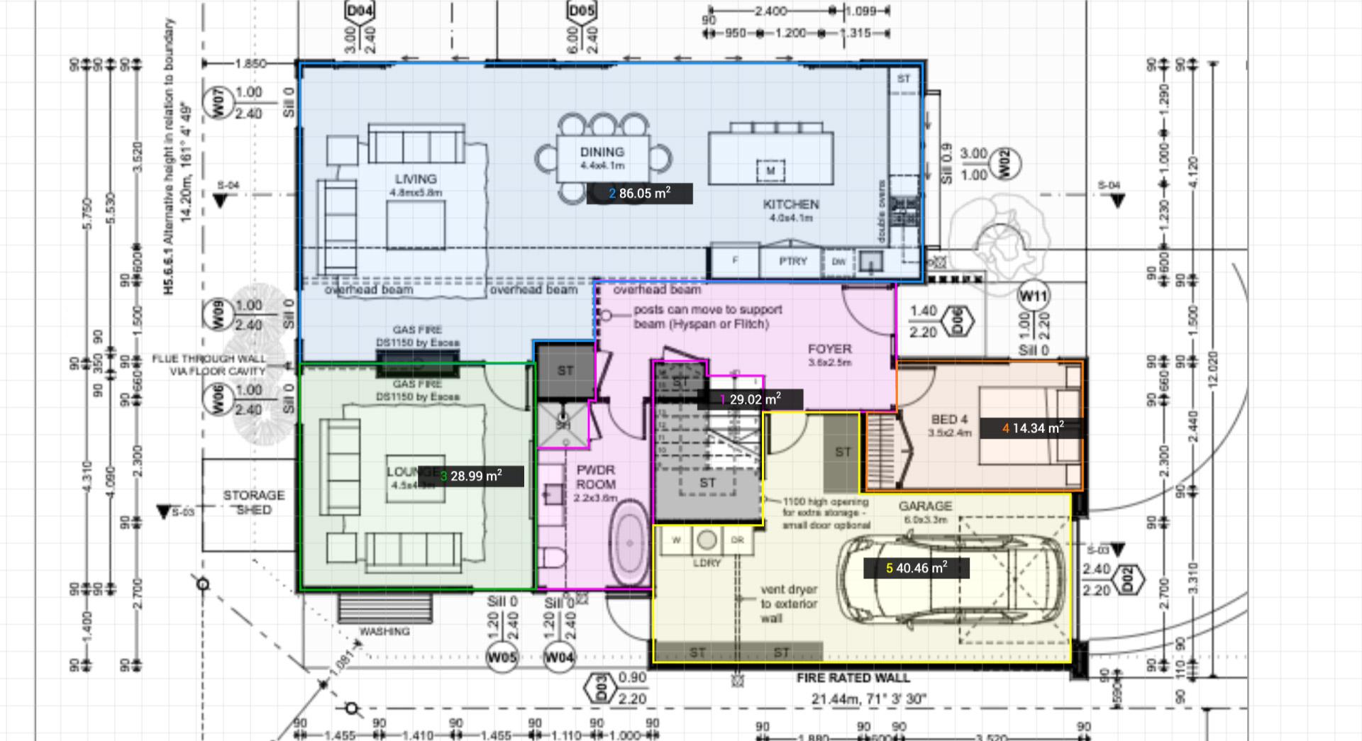 Floor Plan Area Calculator Calculate Floor Area Of A Room Surface Area