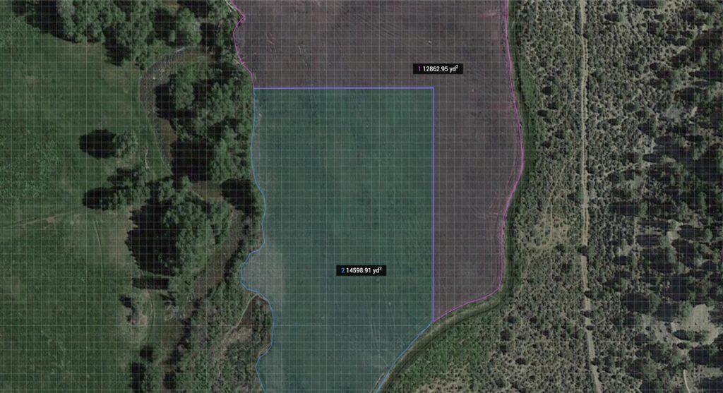 Calculate Irregular Area of land.